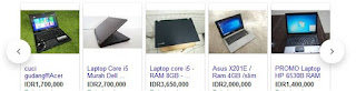 Harga Laptop Bekas Murah 2