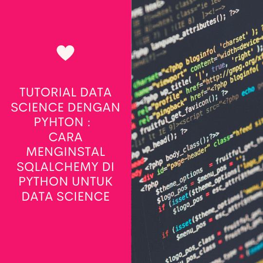 Cara Menginstal SQLAlchemy di Python untuk Data Science