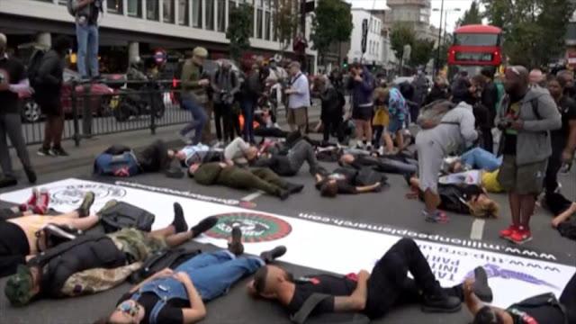 Londres es escenario de una marcha contra racismo sistémico