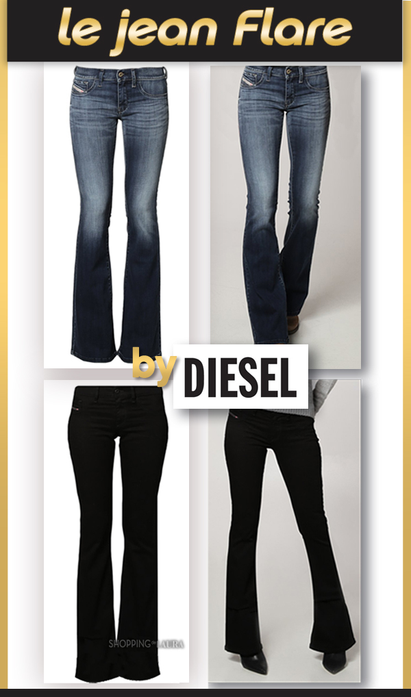 Jean femme coupe Flare DIESEL