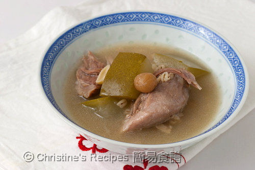 冬瓜清補涼湯 Winter Melon and Ching Po Liang Soup02