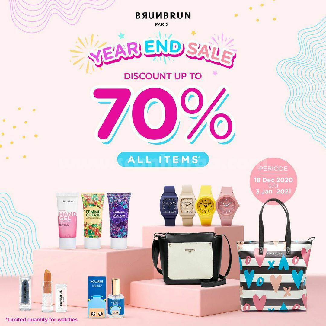 BRUN BRUN YEAR END SALE – Discount up to 70% Off