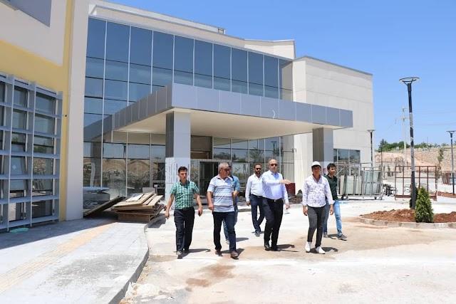 Bozova Devlet Hastanesini inceledi