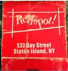 The Redspot matchbook
