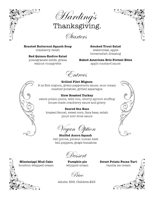 Where to Eat For Thanksgiving