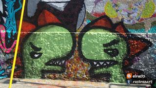 pieza de elra artista urbano