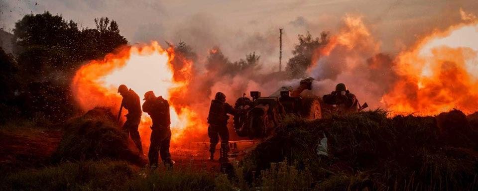 Ураження цілі методом передачі вогню за досвідом АТО