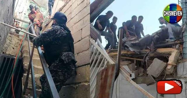 3 Muertos tras estallar una bombona de gas en una casa de 3 pisos en San Bernardino
