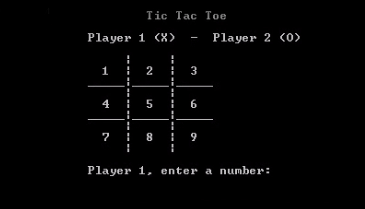 Tic Tac Toe Game Project C++ ~ Arshman Click Technologies