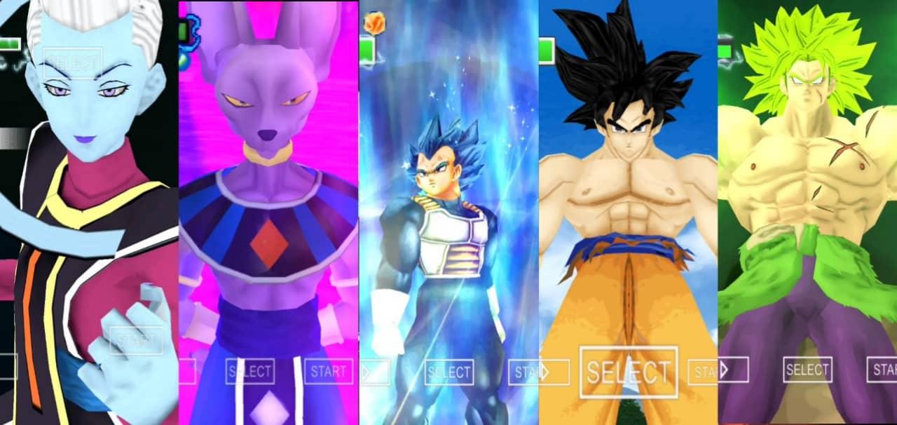 Dragon Ball Super Movie Broly Vs Goku and Vegeta
