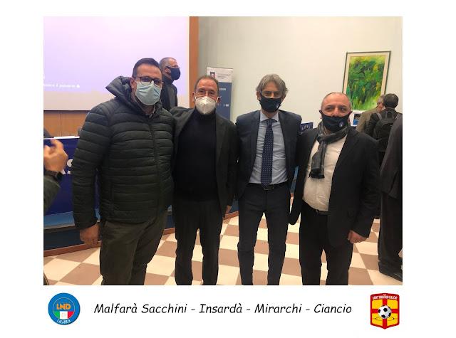 CR CALABRIA LND: SAVERIO MIRARCHI CONFERMATO PRESIDENTE