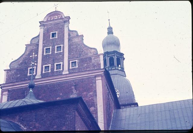 1989 год. Рига. Домский собор.