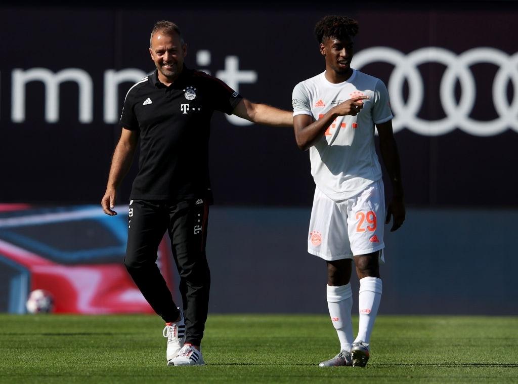 'Máy chạy' Coman lại chấn thương, cờ đến tay Coutinho