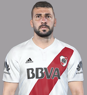 PES 2018 Lucas Pratto by Facemaker SeanFede