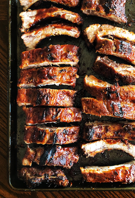 Oven Baked Sticky Baby Back Ribs