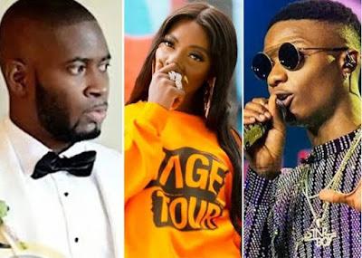 Teebillz Places $1M Bet On Tiwa Savage, Says Wizkid, Davido, & Burna Boy Can't Contest