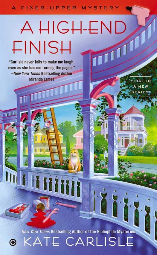Review:  A High-End Finish by Kate Carlisle
