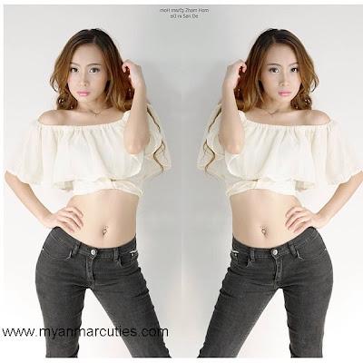 Pretty Model Girl From Shan State- Nang Zham Hom