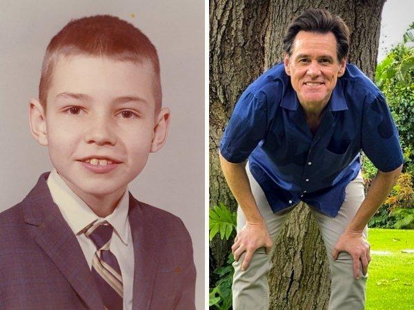 Jim Carrey niño