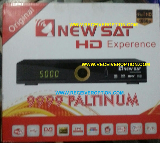 NEWSAT 9999 PALTINUM HD RECEIVER BISS KEY OPTION