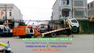 xuất giao bán máy gặt Kubota R1 40 Nhật Bản đi Hiệp Hòa Bắc Giang