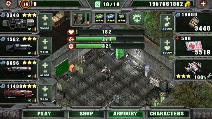 Alien Shooter Free Cheats