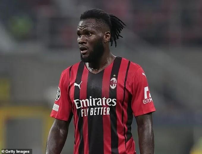 Manchester United 'step up their interest in AC Milan midfielder Kessie