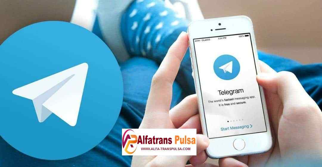 Cara Transaksi Alfa Trans Pulsa Via Telegram