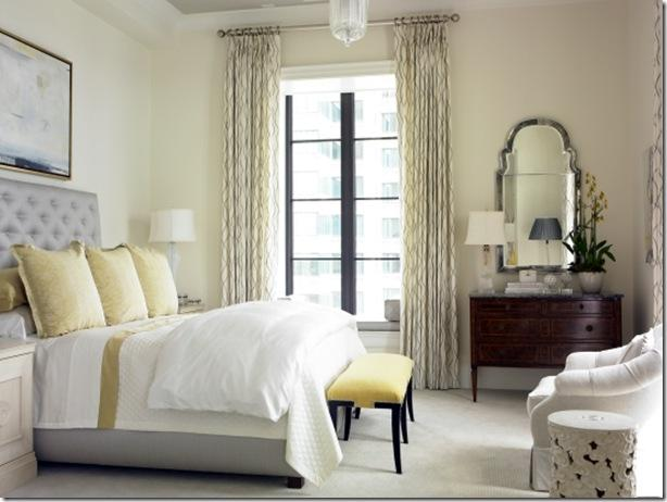 my everyday exceptional: gray and yellow bedrooms