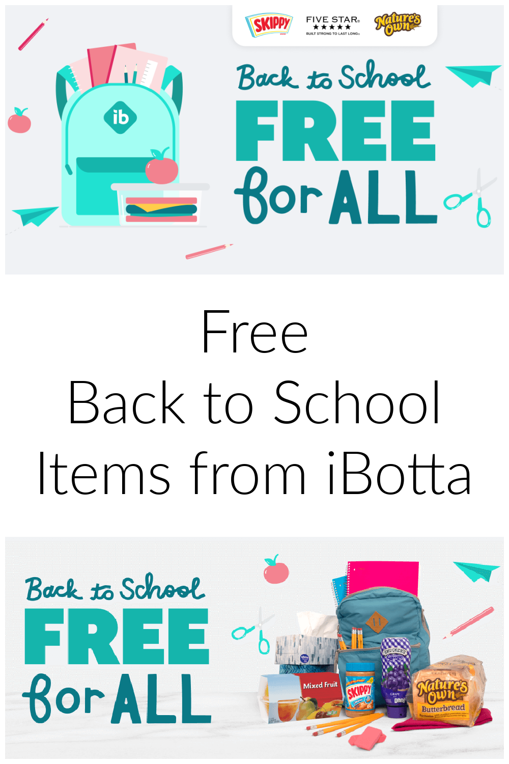 FREE Back to School Items