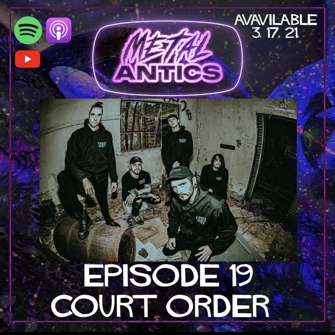 Court Order - Metal Antics