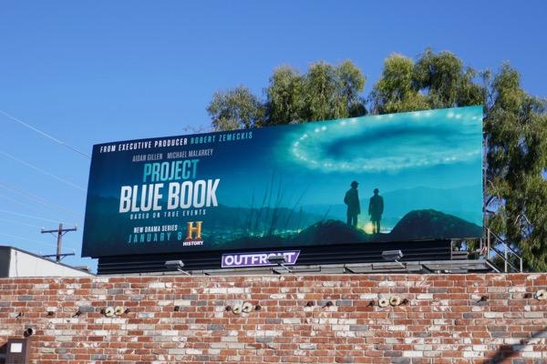 Project Blue Book series premiere billboard