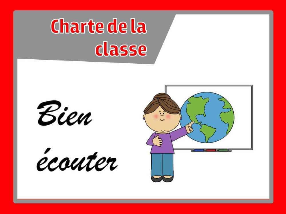 chart de la classe