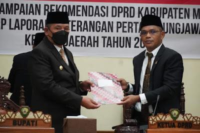 Ini 30 Rekomendasi DPRD Maluku Tenggara Atas LKPJ Bupati Tahun 2020
