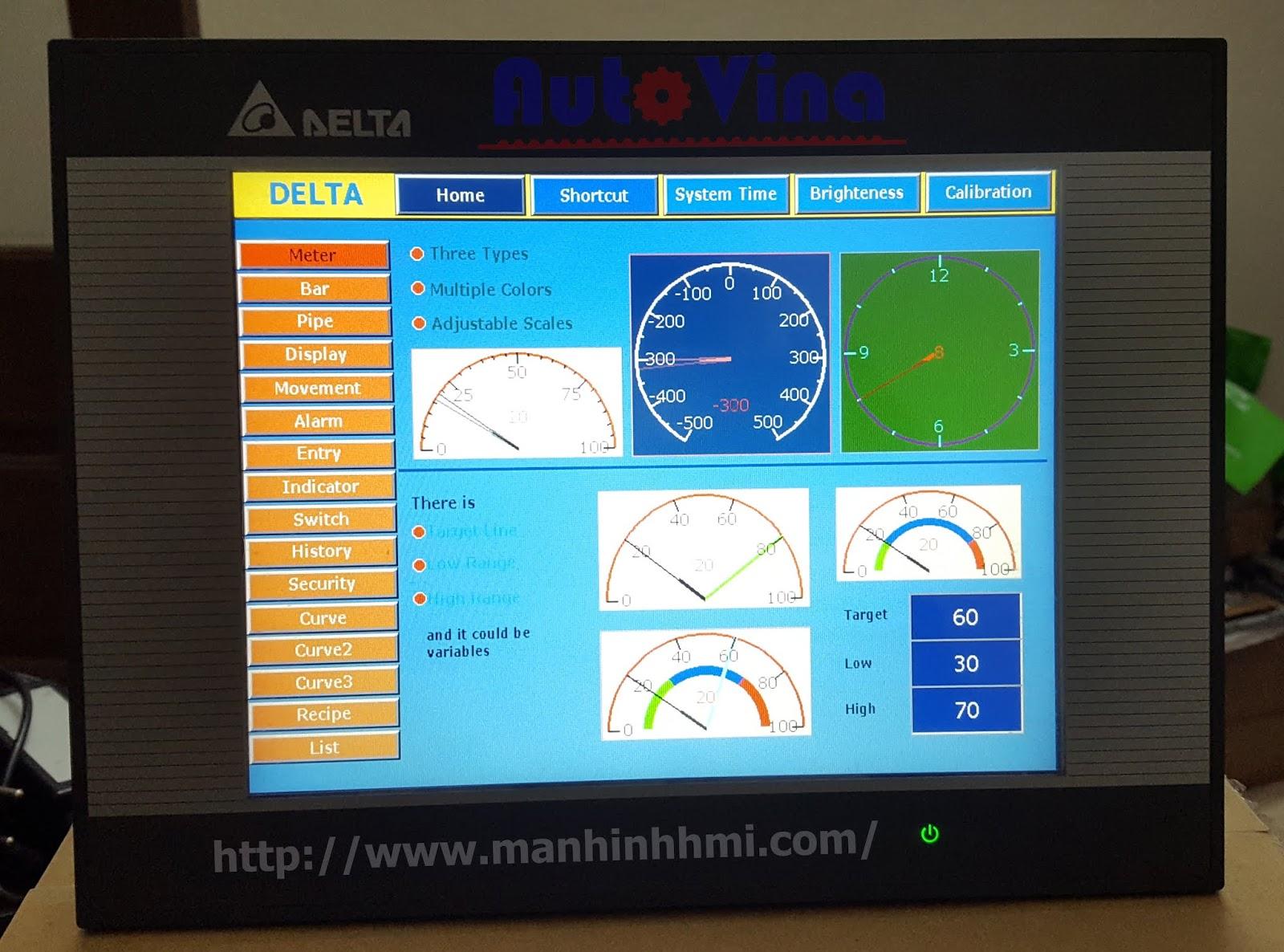 Đại lý bán màn hình cảm ứng HMI Delta DOP-B10E515