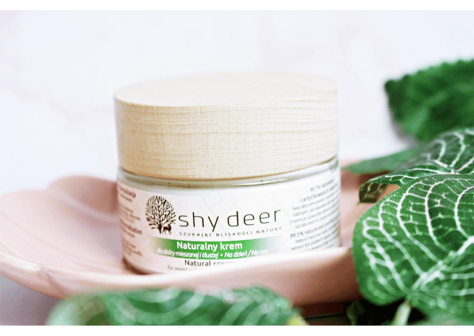 Shy Deer Naturalny krem dla skóry mieszanej i tłustej