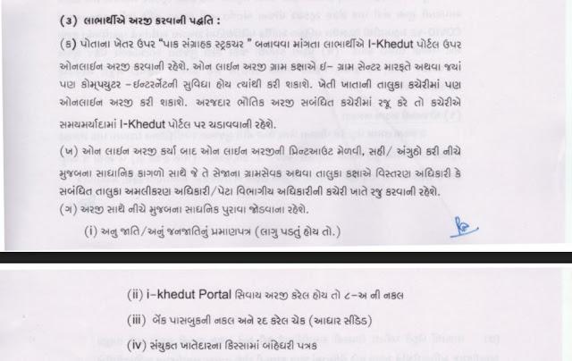 Khedut godown sahay yojana apply online official paripatra    ikhedut.gujarat.gov.in ikhedut portal Gujarat