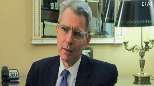 Τζέφρι Πάιατ: Όλα τα ελληνικά νησιά έχουν υφαλοκρηπίδα - Ξεκάθαρη τοποθέτηση του Αμερικανού Πρέσβη