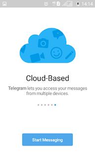 Telegram Berbasis Cloud
