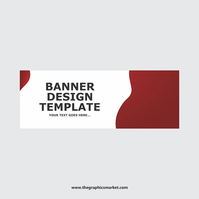 Red Banner Template | Free Download