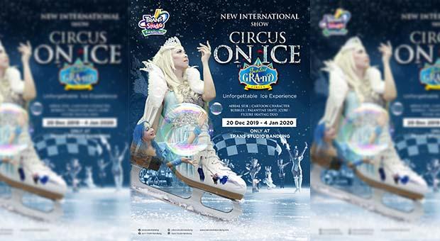 Liburan Akhir Tahun, Trans Studio Bandung Hadirkan Circus On Ice