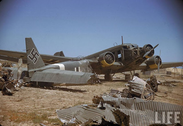 Junkers Ju-52 Planes in color worldwartwo.filminspector.com