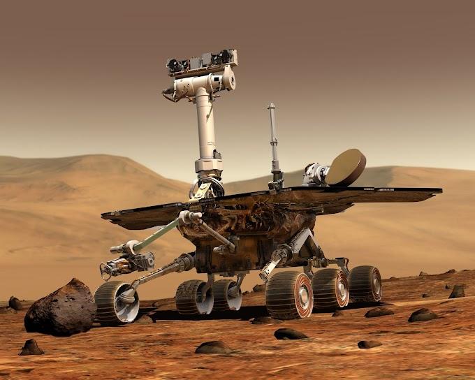 Storage of minerals found on Mars.