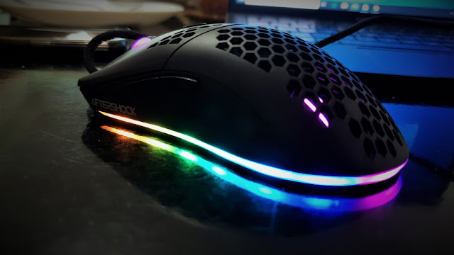 Aftershock Hexar Ultralight Gaming Review with Software