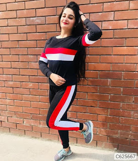 Women's Cotton Printed Track Suits