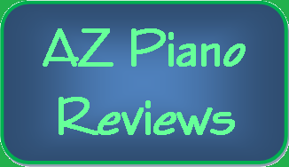 picture of az piano review sign