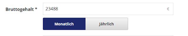 حاسبة الضرائب في المانيا