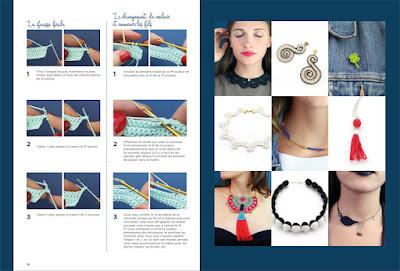 patrons bijoux au crochet