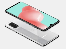 Galaxy A41, 4GB of RAM, Android 10 and Helio P65 | First renderings
