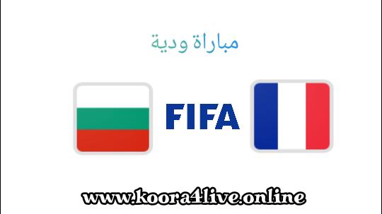 موعد مباراة فرنسا و بلغاريا و القنوات الناقلة ... مباراة ودية
